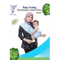 Gendongan Bayi Instan Baby Feeling Bahan Katun Gendongan Bayi Samping - S