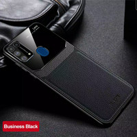 leather Case Samsung Note 20 Ultra/Note 10+/S20 Ultra/S10+/Note 9 - Hitam, Note 9