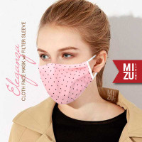ELEGANZA Cloth Face Mask Masker Kain Corak 3 Ply Sarung Filter