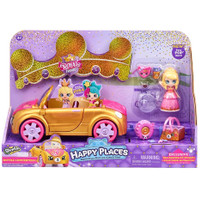 SHOPKINS HAPPY PLACES ROYAL CONVERTIBLE ROYAL TRENDS + TIARA SPARKLES