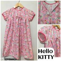 """Hello KITTY kids dress""""KATUN GROW""""1 sampai 9 tahun"""