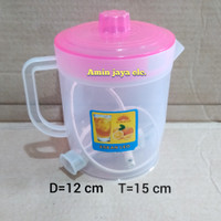 Teko listrik plastik murah 1,5 liter