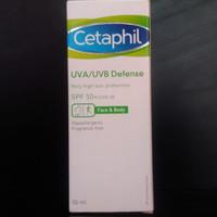 CETAPHIL SUNSCREEN UVA/UVB Defense SPF50 50ml COCOK KULIT SENSITIVE