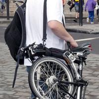 Hand Grip Tas Sepeda Lipat Carrying Holder Tas Jinjing Seli Handle Set