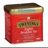 Twinings English Breakfast Tea London Box 100gr