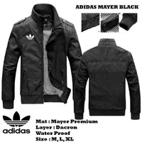 Jaket Mayer Adidas Pria waterproof anthem distro casual motor premium