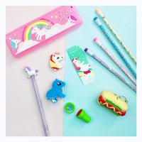 Kotak pensil unicorn happy set 25