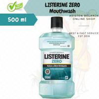 LISTERINE ZERO 500ml 500 ml Antiseptic Mouthwash Obat Kumur Lbh Ringan
