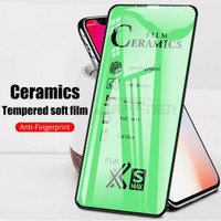 TEMPERED GLASS CERAMIC FILM FULL COVER FULL LAYAR OPPO ALL TYPE
