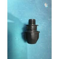 Fitting HDPE Male Thread Adaptor / Drat Luar ukuran 25mm x 3/4 Inch