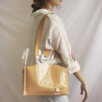 PVC Tote Bag Magnet Pouch Set Custom Nama