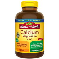 nature made calcium magnesium zinc 300 Tablets