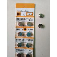Maxell Battery Lithium LR44 |Batre Kancing Lithium LR44