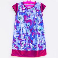 Daster Baju Tidur Anak Perempuan Karakter My Little Pony 9-10 Tahun