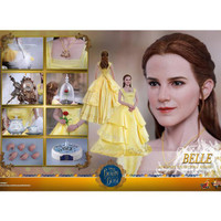 Disney BEAUTY AND THE BEAST BELLE Diecast Figure HT MMS422 Hot Toys