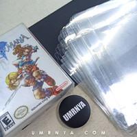 Case Transparan Mika Kotak pelindung Kardus Gameboy gba Nintendo Box