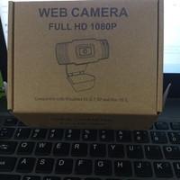 X1 Kamera Web Webcam 1080P FHD/FULL HD MIC Komputer Laptop PC Camera
