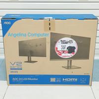 Monitor AOC 24V2Q 24/75HZ/IPS/FLAT/FHD/5MS/250nits