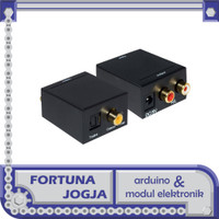 Modul Converter Audio Optical Toslink Coaxial Digital to Analog RCA