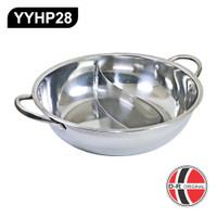 Panci Shabu Shabu / Hot Pot Pan YYHP28 (Ukuran 28Cm)