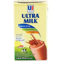 Susu ultra coklat 125 ml per 10 pcs