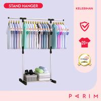 PARIM Stand Hanger Single Rak Baju Gantungan Baju Tanpa Roda PRM-111