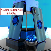 Xiaomi Redmi Note 9 9 Pro Soft Case Casing Cover Plating Clear Ring