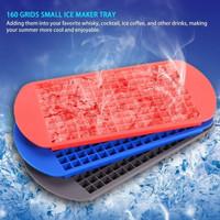 Cetakan Es Batu Silikon 160 cube citakan es anti pecah cetakan es 160