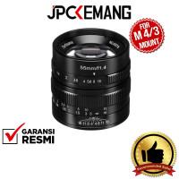 7Artisans 55mm f1.4 for Panasonic Olympus MFT 55mm f/1.4 GARANSI RESMI