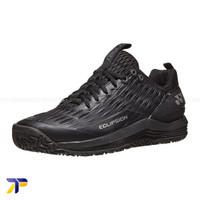 Sepatu Tenis Tennis Yonex Power Cushion Eclipsion 3 - Black Silver Wht