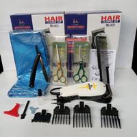 paket alat cukur rambut lengkap berkualitas