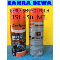 ARCHELE White Grease Spray Gemuk Putih Pelumas universal semprot 450ml