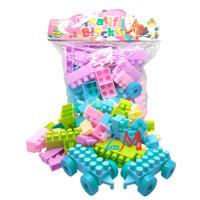 MAINAN ANAK LEGO BLOCK BESAR ISI 85 PCS OCT 9231 - MAINAN EDUKATIF