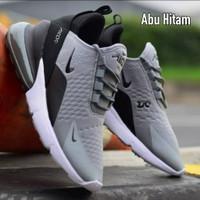 Sepatu Sport Nike Airmax 270 Grade Ori Abu Abu Hitam 02 Sneakers Pria