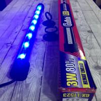 Lampu aquarium LED 3 watt Gaxindo