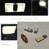Lampu Plafon Kabin Mobil Rush Terios LED Paket isi 4 Normal Bright v3