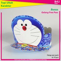 Topi Ulang Tahun Anak Karakter Doraemon Pesta Ultah Doremon