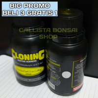 Clonning 100ml Rooting Hormon Gel ( Clonex Root Up Nature Stek )