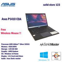 Asus P1410CDA AMD Athlon 4GB 128GB SSD AMD Radeon Win 10 Home Black