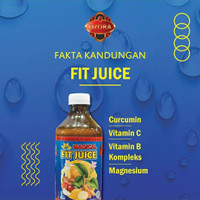OZORA Magical Fit Juice 325ml Herbal Jantung Stroke, Liver, Madu Lemon