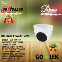 INDOR KAMERA CCTV /CAMERA DAHUA COOPER SERIES 4MP T1A41P