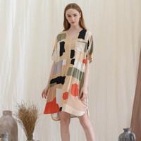 Julia Nightdress in Mocca - Piyama / Daster Rayon Premium by RAHA