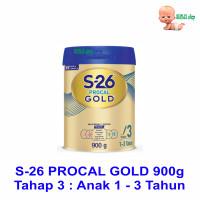 S-26 PROCAL GOLD 900g Tahap 3 - Susu Pertumbuhan Anak