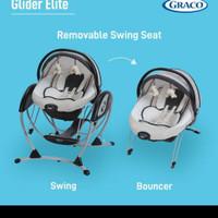 Graco Baby Glider Elite Gliding 2 in 1 Swing & Bouncer GRACO - SPIN