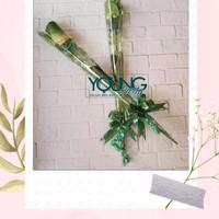 Setangkai mawar/Bunga mawar hijau/setangkai mawar hijau