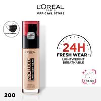 L'oreal Paris 24H Fresh Wear Infallible Liquid Matte Foundation 30ml