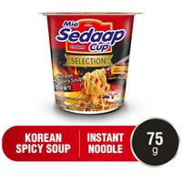 SEDAAP MIE KOREAN SPICY SOUP CUP - 75 GRAM
