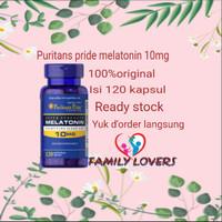puritans pride melatonin 10mg 120 kapsul