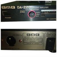 MURAH Ampli Amplifier BmB Da-220 Ori Japan Mulus