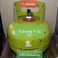 Tabung Gas LPG/Elpiji/Melon 3kg - Plus Isi
